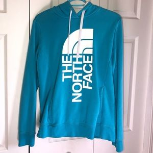 TNF Blue and White Hoodie